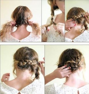La coiffure de la mariée aux cheveux courts