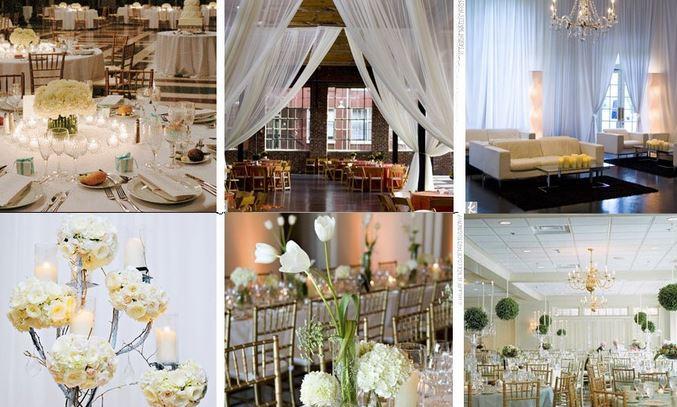 La décoration florale de la salle de mariage : quels endroits faut-il décorer ?